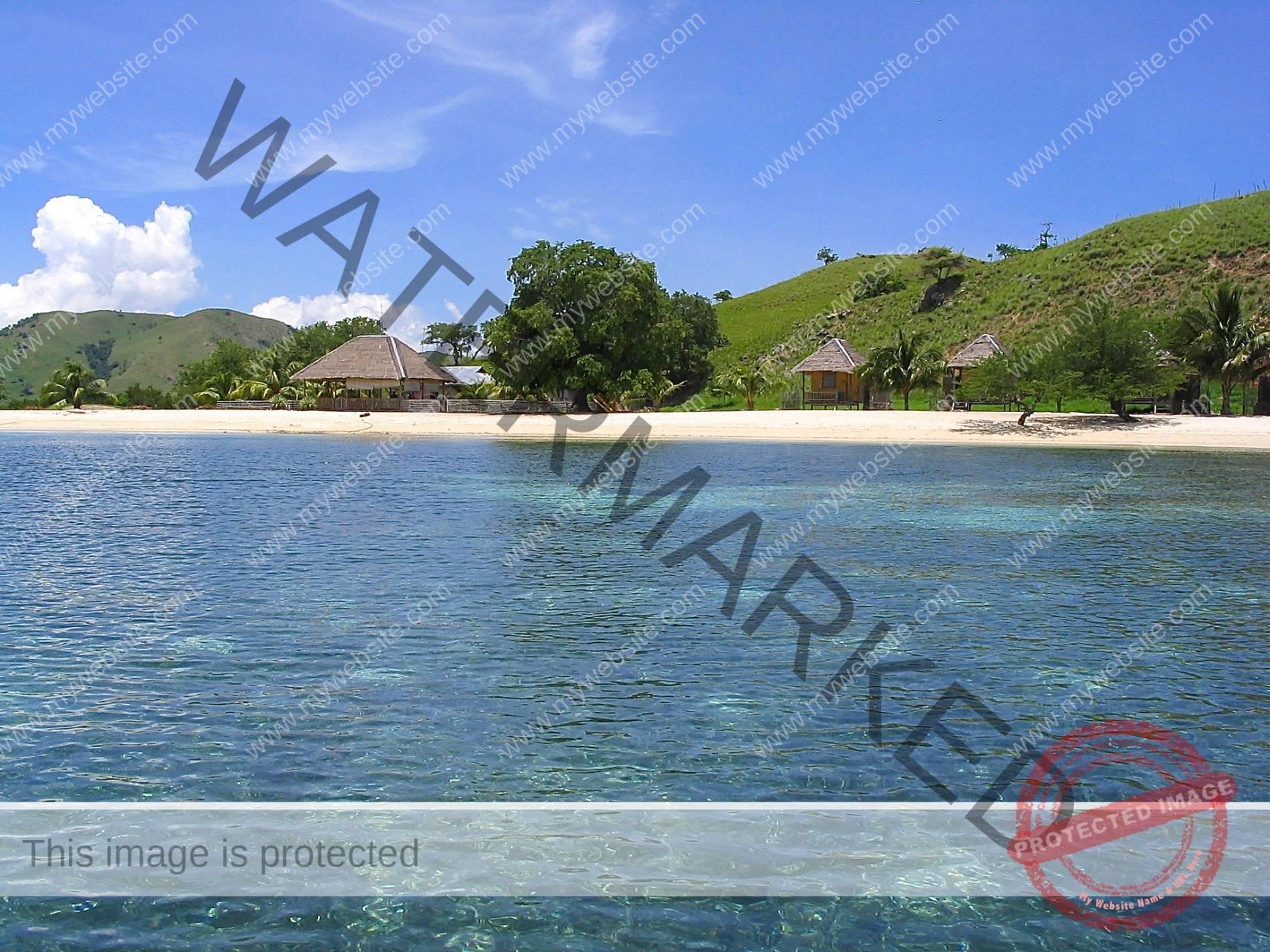 Island from sea